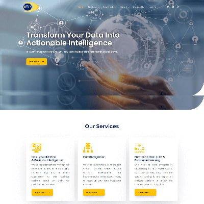 2 Biitsinc startup Web Design By ABS