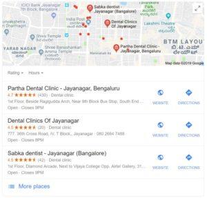 dental clinics in jaya nagar digital marketing web development business strategy abs aero business solutions SEO content marketing dental email social media WordPress Shopify Bangalore Hyderabad Mumbai Delhi Chennai Kolkata Ahmedabad Surat Pune India