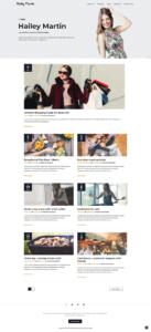 full homepage screenshot of a UI & UX design template of screencapture websitedemos net blog 01 2019 09 03 09 18 34