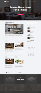 full homepage screenshot of a UI & UX design template of screencapture websitedemos net blog 02 2019 09 03 09 19 13
